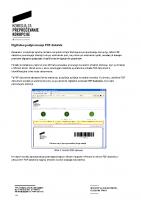 Navodilo za digitalno podpisovanje PDF datotek