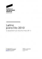 KPK Letno poročilo 2010