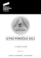 Letno poročilo KPK 2012