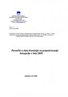 Poročilo za delo v 2005