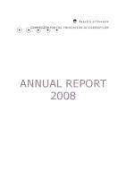 Porocilo za delo v 2008 (angleški prevod)
