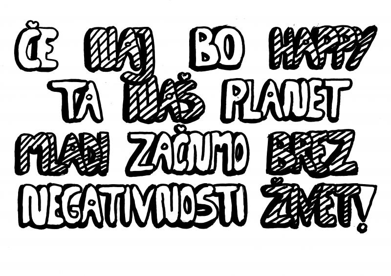Happy planet; Ana Šetina, OŠ Podgora Kuteževo