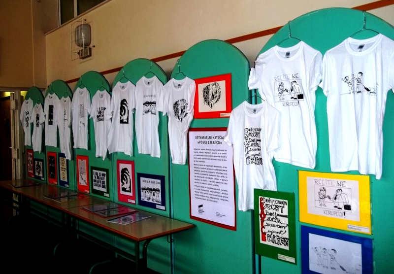 Javna šolska prireditev z razstavo ustvarjalnega natečaja na OŠ Kapela2