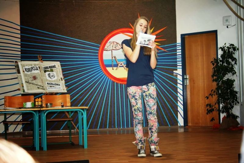 Javna šolska prireditev z razstavo ustvarjalnega natečaja na OŠ Kapela6