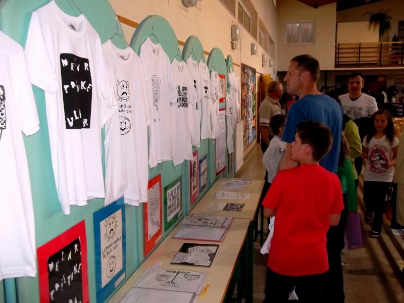 Javna šolska prireditev z razstavo ustvarjalnega natečaja na OŠ Kapela9