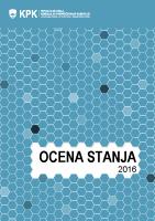 Ocena stanja 2016