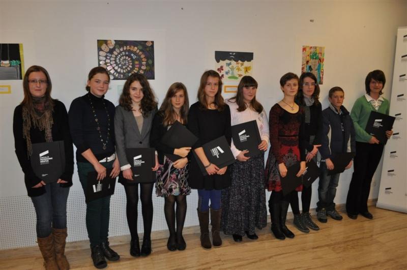Otvoritev razstave Ustvarjalnega natečaja za OŠ – 15.12.2011 (3)