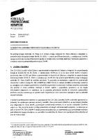 Sistemsko pojasnilo o omejitvah oziroma prepovedi poslovanja