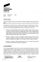 Obdobno poročilo o izvedenih postopkih ugotavljanja nasprotja interesov jan-mar 2017