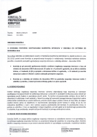 Obdobno poročilo o izvedenih postopkih ugotavljanja nasprotja interesov okt-dec 2014
