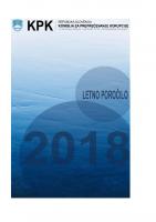 Letno poročilo KPK 2018