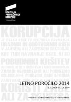Letno poročilo 2014