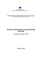 Letno poročilo 2004