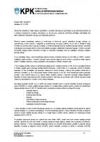 Povzetek poročila tematskega nadzora