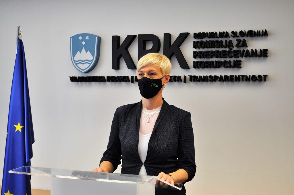 Vodja Službe za nadzor in preiskave Katja Mihelič Sušnik