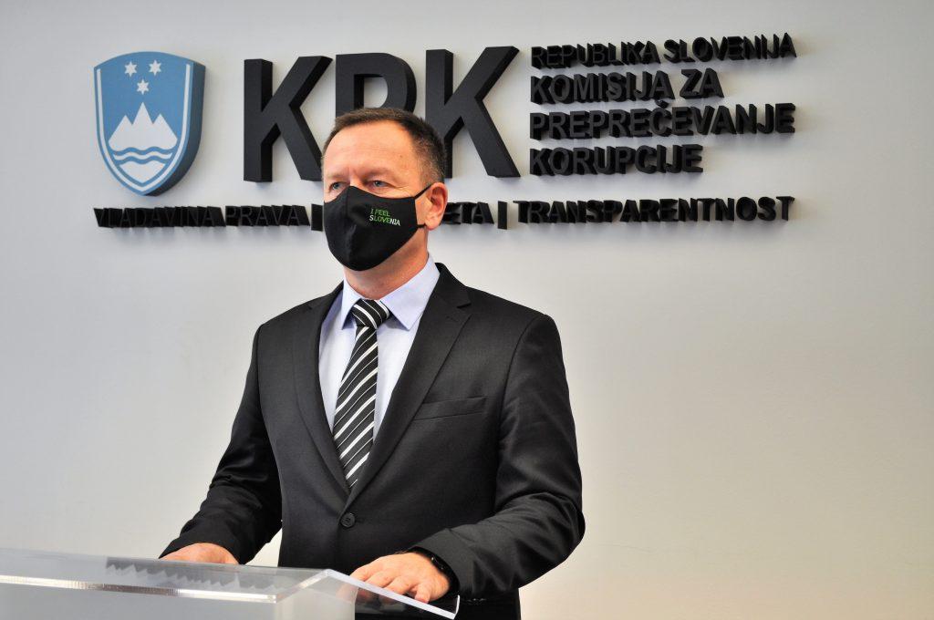 Predsednik Komisije za preprečevanje korupcije dr. Robert Šumi